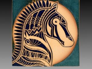 Ellen Stakes Tiles, Woodstock New Paltz Art & Crafts Fair Ceramics