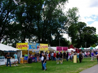 Prepared Food Vendors at the Woodstock-New Paltz Art & Crafts Fair