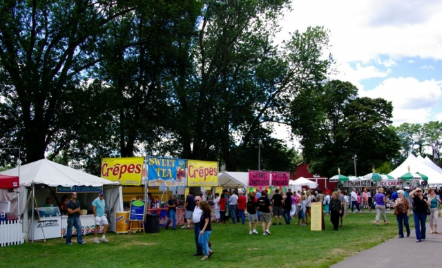 Prepared Food Vendors at the Woodstock-New Paltz Art & Crafts Fair