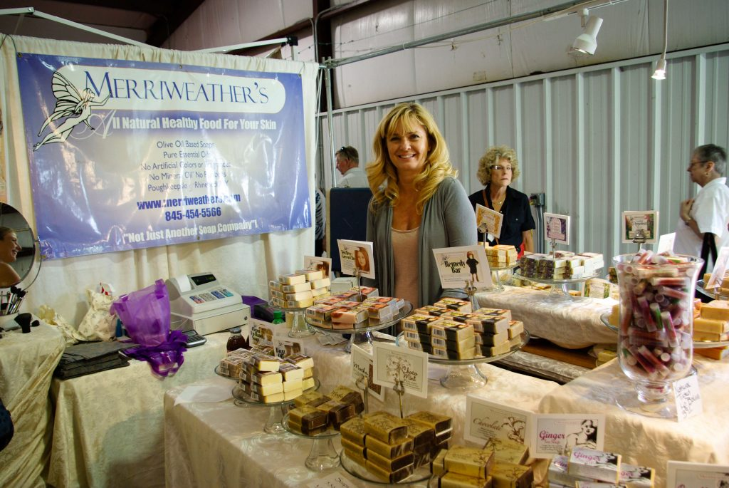 Handmade soap and body products, Woodstock-New Platz Art & Crafts Fair