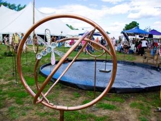 Landscape Arts Handmade Sprinklers at the Woodstock-New Paltz Art & Crafts Fair