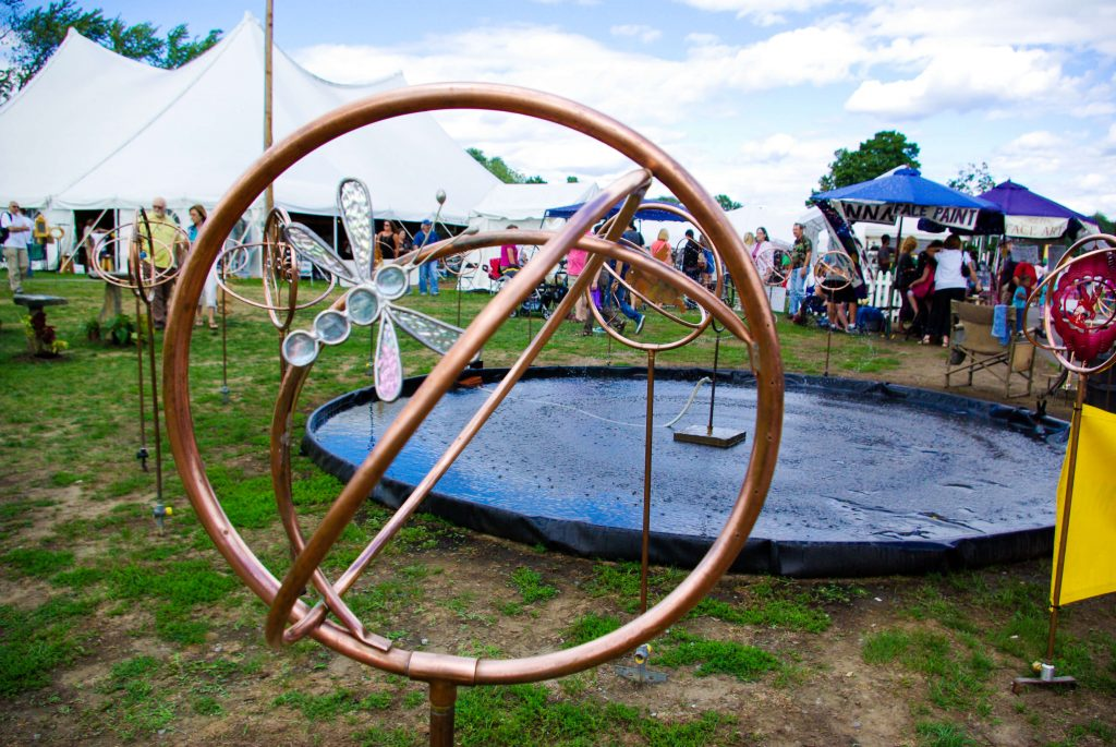 Landscape Arts Handmade Sprinklers at the Woodstock-New Paltz Art & Crafts Fair