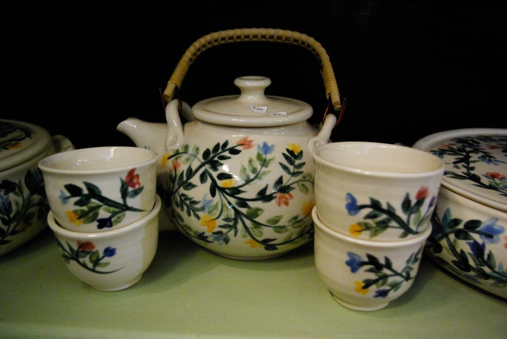 Marsha Kaufman Rubinstein, Porcelain Ceramics at the Woodstock-New Paltz Art & Crafts Fair