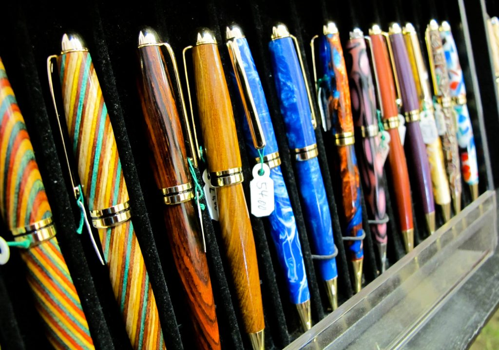 Custom Pens by Hart Woodcrafts, Woodstock-New Paltz Art & Crafts Fair