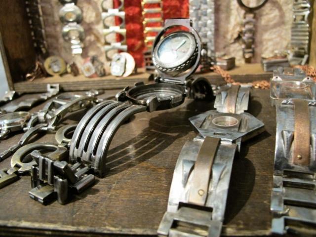 handmade metal watches, Woodstock-New Platz Art & Crafts Fair