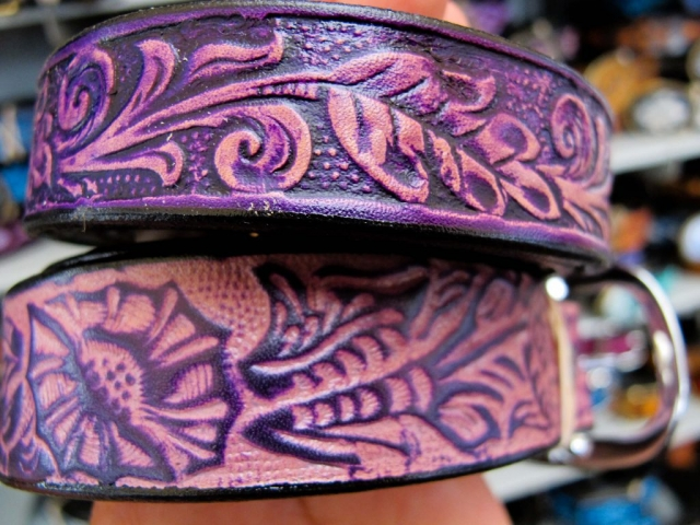 Leather Accessories at the Woodstock-New Paltz Art & Crafts Fair