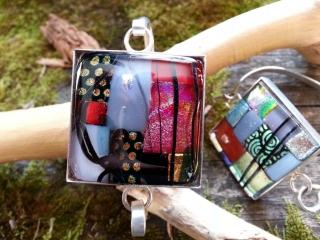 handmade glass jewelry, Woodstock-New Paltz art & Crafts Fair