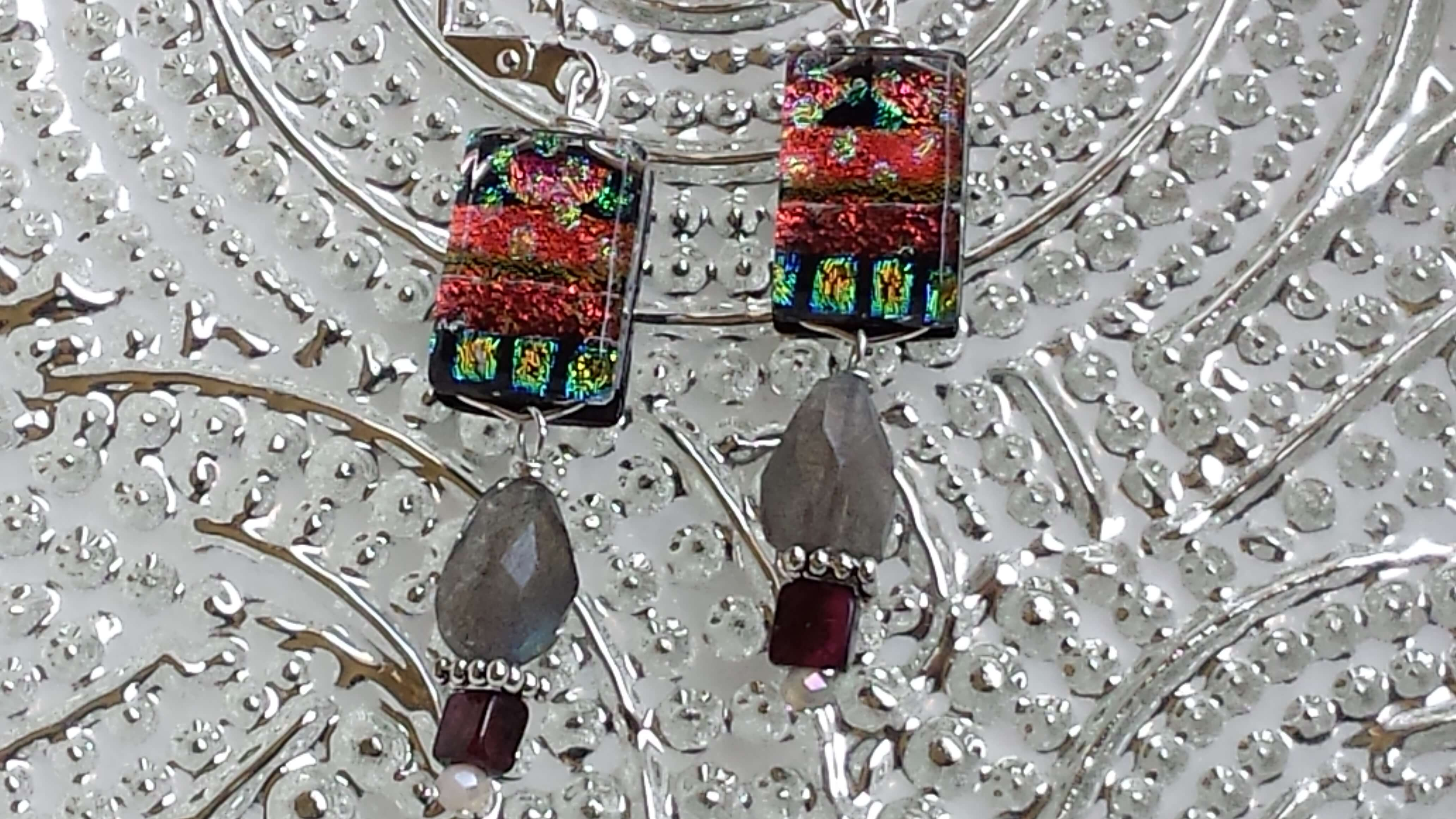 handmade glass jewelry, Woodstock-New Paltz art & Crafts Fair