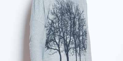 Fairytale Trees Poncho Light Gray _72 (1)