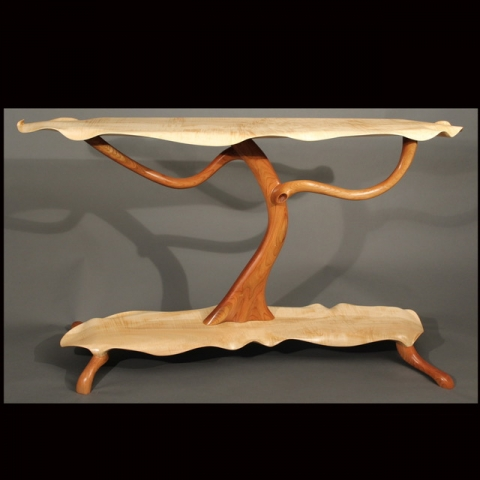 Scott Deming, Woodwork at the Woodstock-New Paltz Art & Crafts Fair