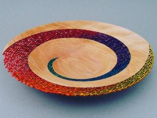 Paul Petrie Jr., Woodwork at the Woodstock-New Paltz Art & Crafts Fair