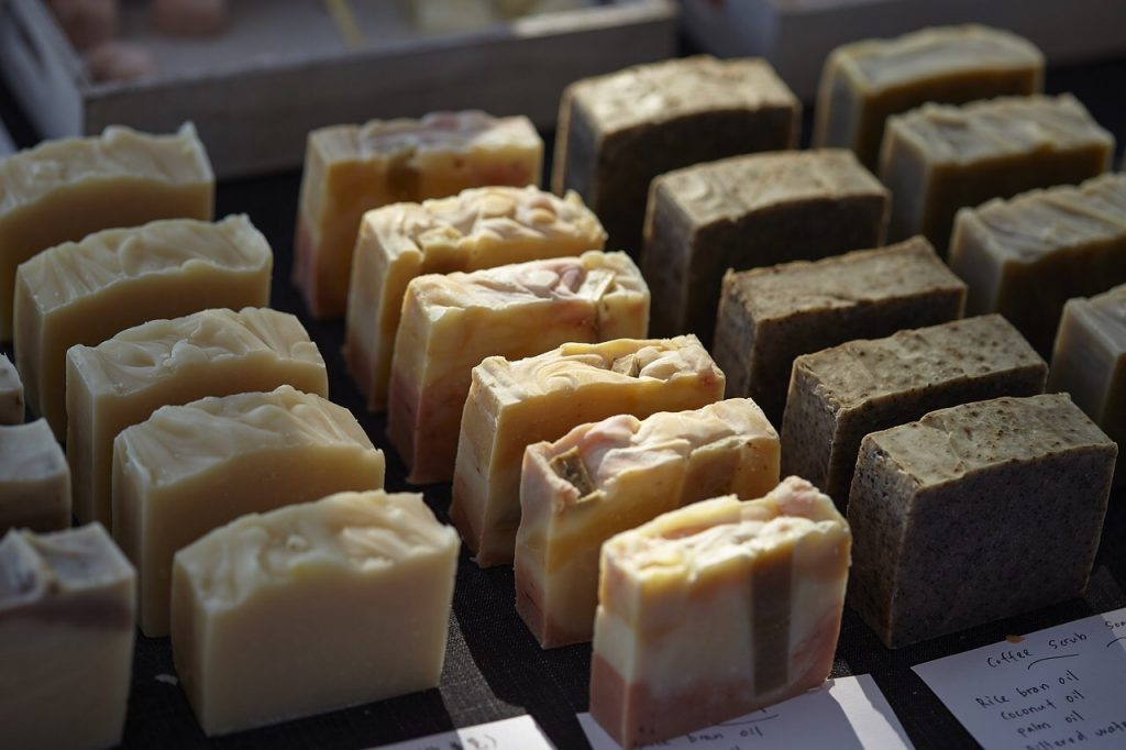 handmade soaps, Woodstock-New Platz Art & Crafts Fair