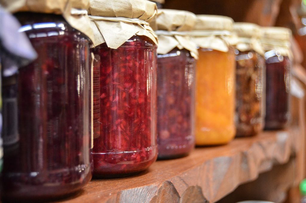 homemade jam and jelly, Woodstock-New Platz Art & Crafts Fair