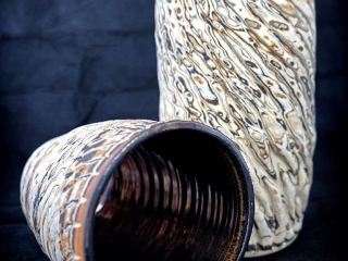 Nicole Jurain Pottery, Woodstock-New Paltz Art & Crafts Fair