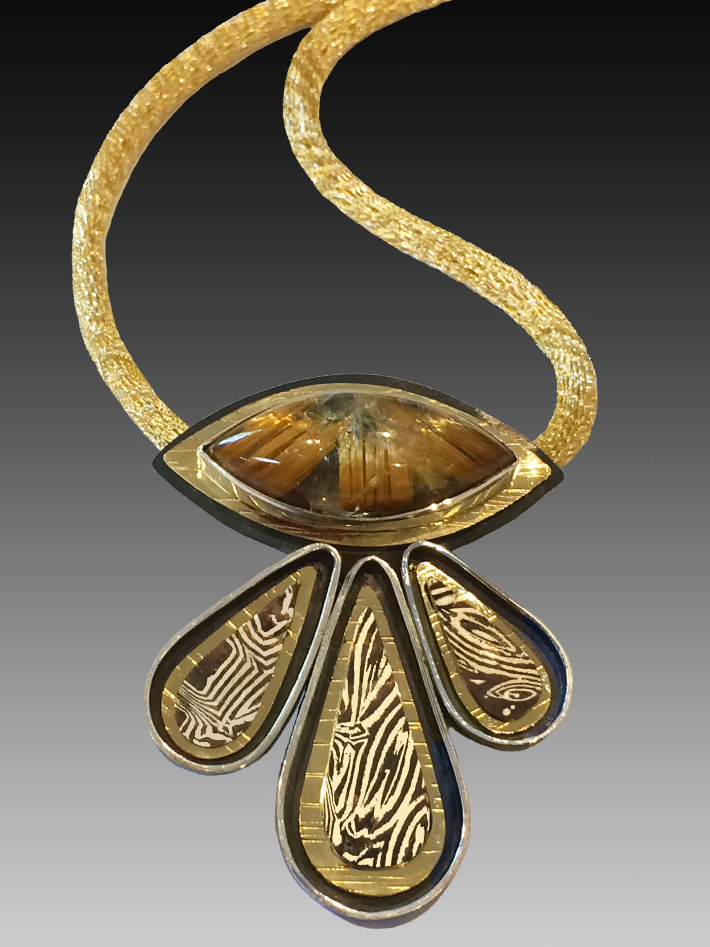 Kara Raymond Studio, Hanibara Pendant, Handmade Jewelry Woodstock-New Paltz Art & Crafts Fair