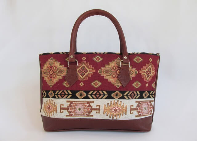 Lilly's Allure by Frank and Lilly Maniscalco: Leather Tote, handcrafted leather accessory