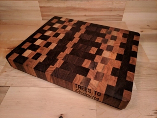 Tree to Dreams by Tyler Lucas: Cutting Board, handcrafted wood art, Cutting board wooden, handmade