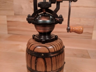 Tree to Dreams by Tyler Lucas: Pepper Mill, handcrafted wood art, Wooden Pepper Mill, handmade