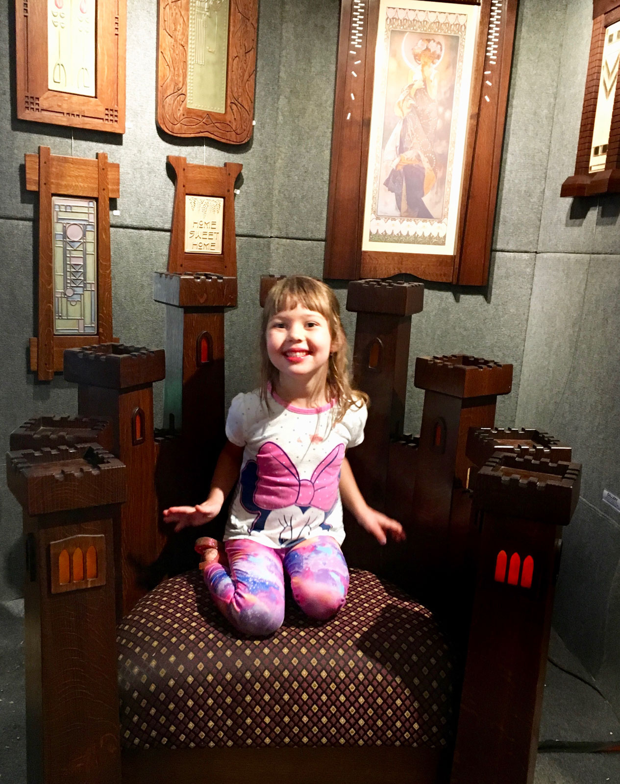 Mission Guild Studio Chair, Woodstock-New Paltz Art & Crafts Fair