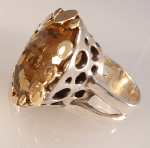handmade ring, Woodstock-New Platz Art & Crafts Fair