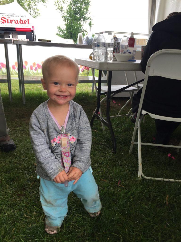ice cream tent rain Woodstock-New Paltz Art & Crafts Fair children