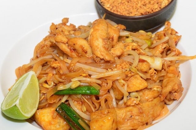 Thai Food Pad Thai at the Woodstock-New Paltz Art & Crafts Fair