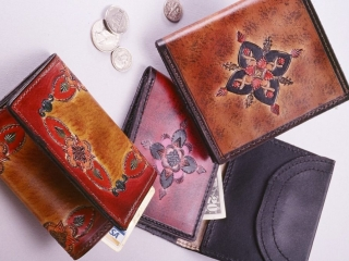 Brad Barnes, handcrafted leather, Woodstock-new paltz Art & Crafts Fair