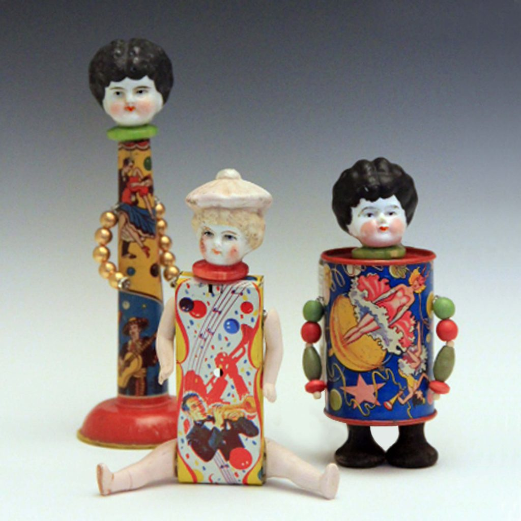 Hilary Greif Designs, Mixed Media dolls and antiques, Woodstock-New Paltz Art & Crafts Fair