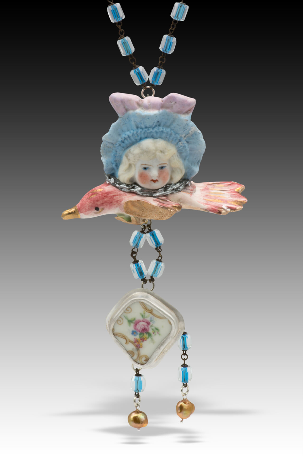Hilary Greif Designs, Mixed Media dolls and antiques, Woodstock-New Paltz Art & Crafts Fair