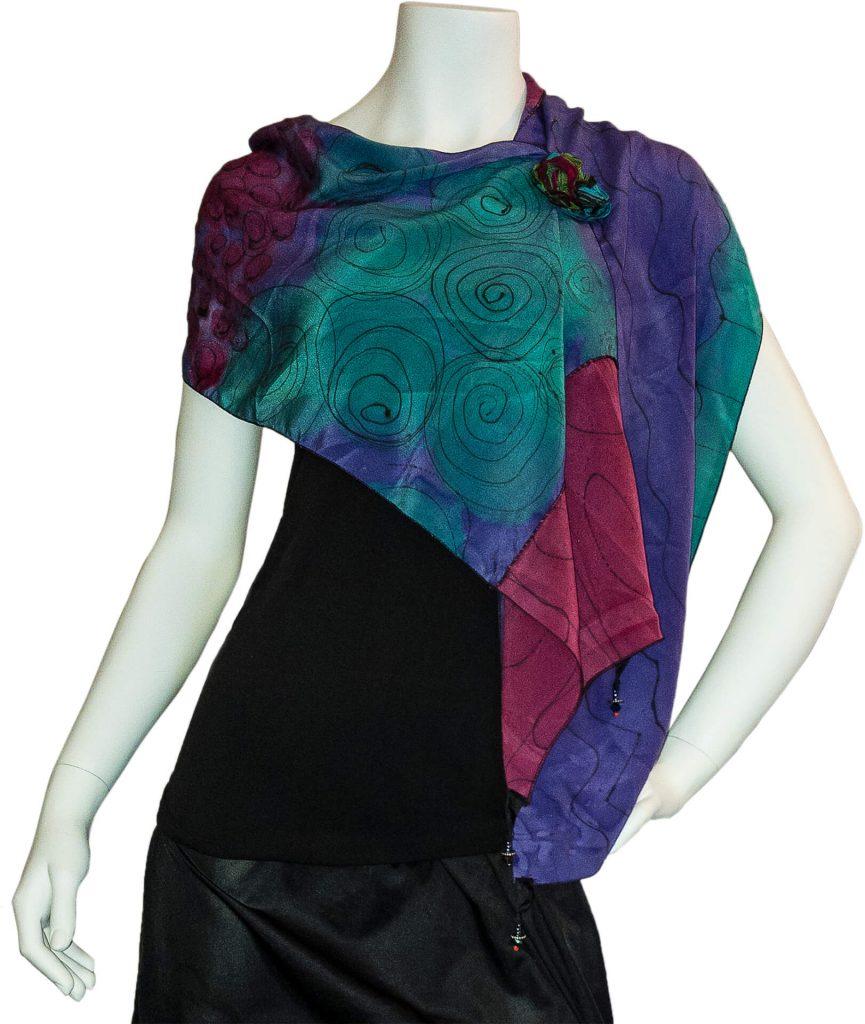 Jill Stern Wearable Fiber Art, Woodstock-New Paltz Art & Crafts Fair