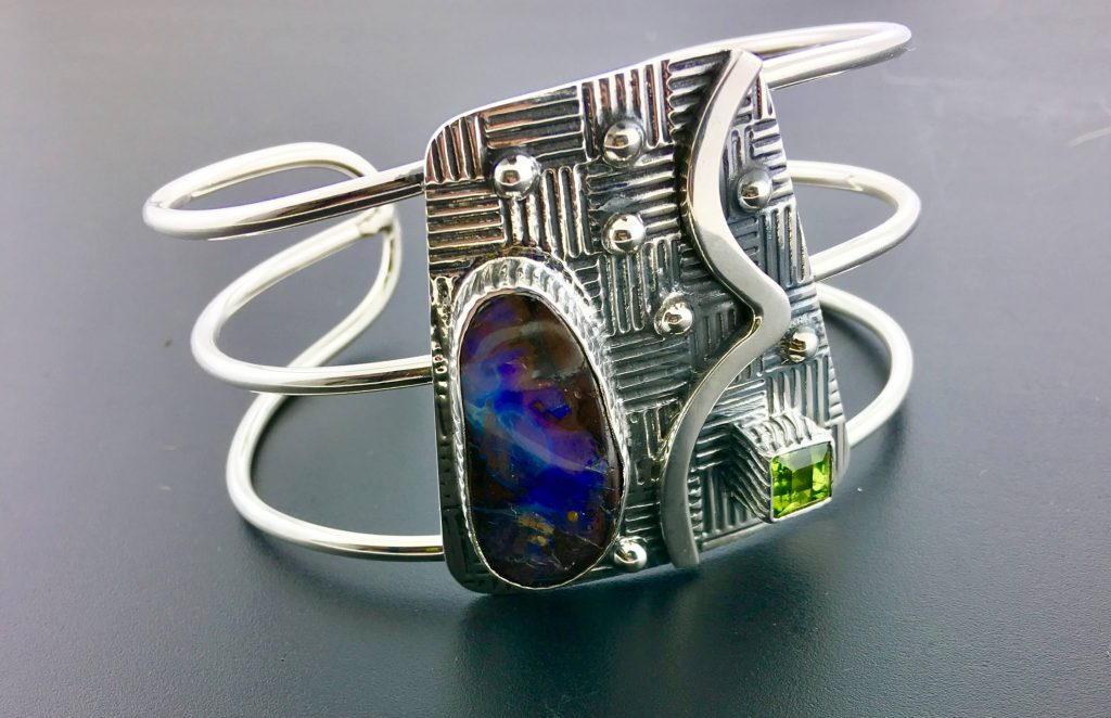 Tommy Conch Designs, Handcrafted Bracelet, Woodstock-New Paltz Art & Crafts Fair