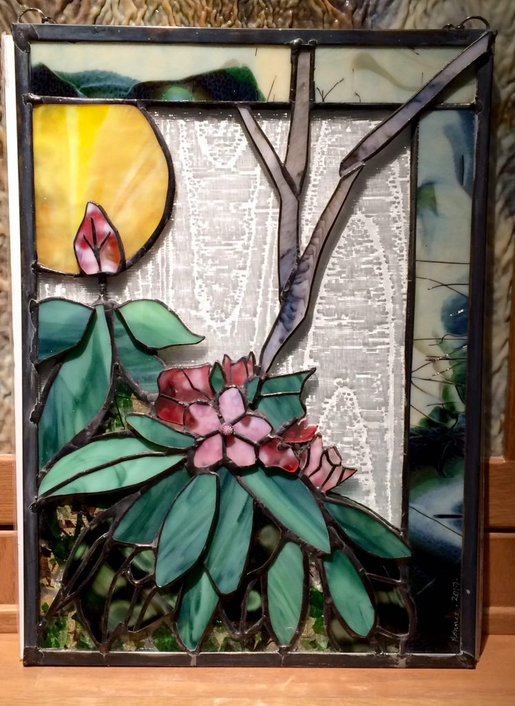 Ronnee Peters, Captured in Glass, handmade stained glass Woodstock-New Paltz Art & Crafts Fair