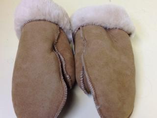 Adele Dupont, Golden Fleece Fashions, Handmade Leather Mittens, Woodstock-New Paltz Art & Crafts Fair