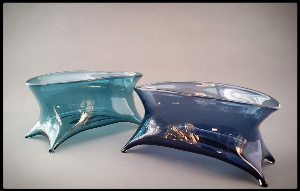 Catskill Glasswork: Chad Davis, upstate New York, ny glass art, baskets