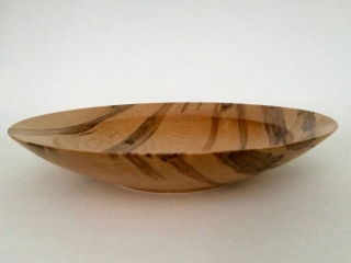 KC Maxson Wood Turning: Black Walnut Bowl, handcrafted woodwork bowl