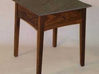 Ken Anderson, Atwood Furniture, Bluestone Top End Table, Sackback Windsor Chair, Handmade Furniture, Woodstock-New Paltz Art & Crafts Fair