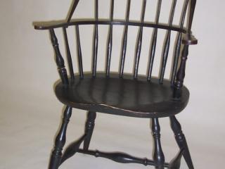 Ken Anderson, Atwood Furniture, Sackback Windsor Chair, Handmade Furniture, Woodstock-New Paltz Art & Crafts Fair