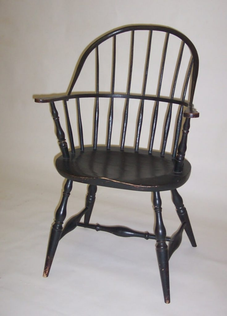 Ken Anderson, Atwood Furniture, Sackback Windsor Chair, Handmade Furniture, Woodstock-New Paltz Art & Crafts Fair