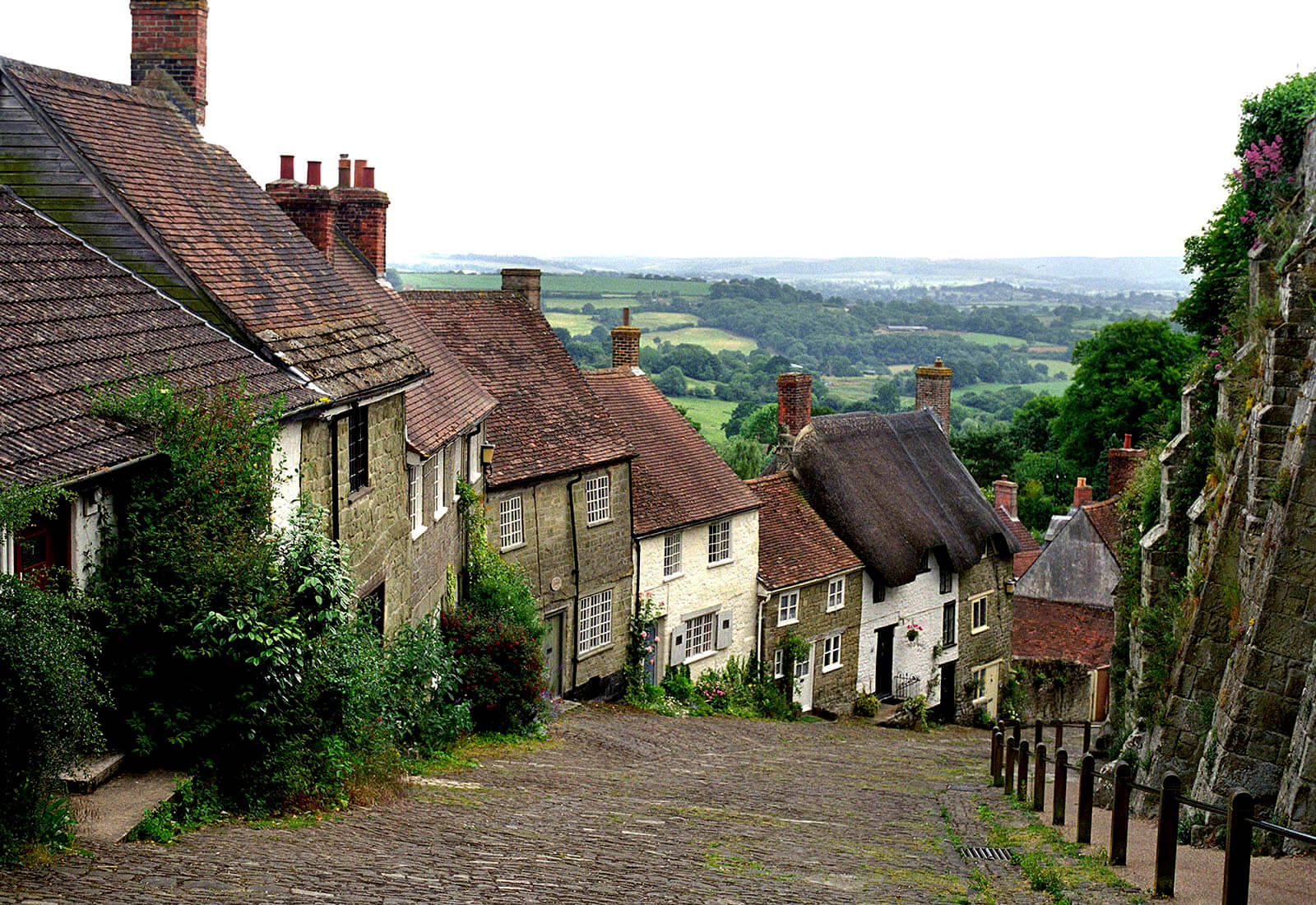 "La Shot Photography by David Maynard, ""Gold Hill"", fine art photography, digital camera, film, england"