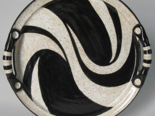 Lukacs Pottery by Mark & Cathy Lukacs: Cat Bank handcrafted pottery and ceramics, handmade platter