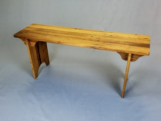 Yesteryear Furniture by Mike Stanik: Bench (Shaker Style, Reclaimed Lumber)