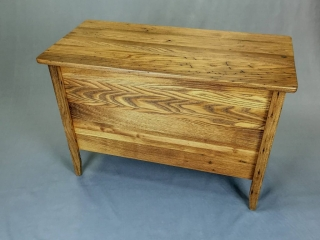 Yesteryear Furniture by Mike Stanik: Blanket Chest (Sheker Style, Reclaimed Lumber)