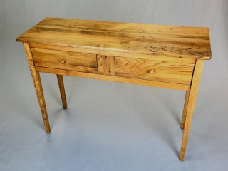 Yesteryear Furniture by Mike Stanik: Hunt-Board (reclaimed lumber), early American furniture design