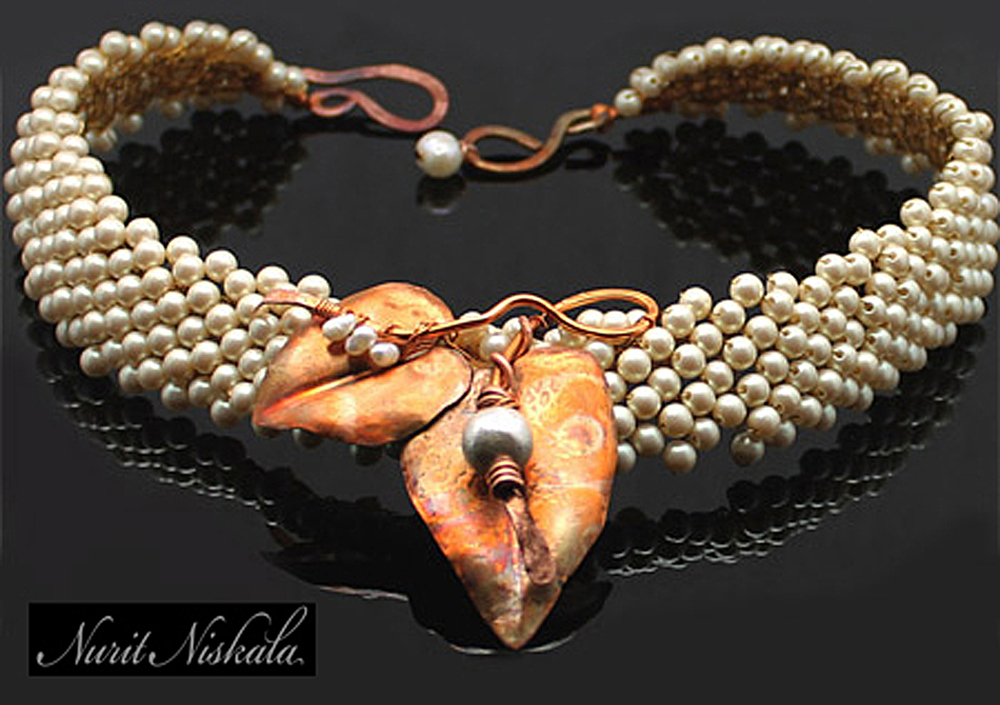 Nurit Niskala, NuArt Jewelry, handcrafted jewelry, Woodstock-new paltz art & crafts fair