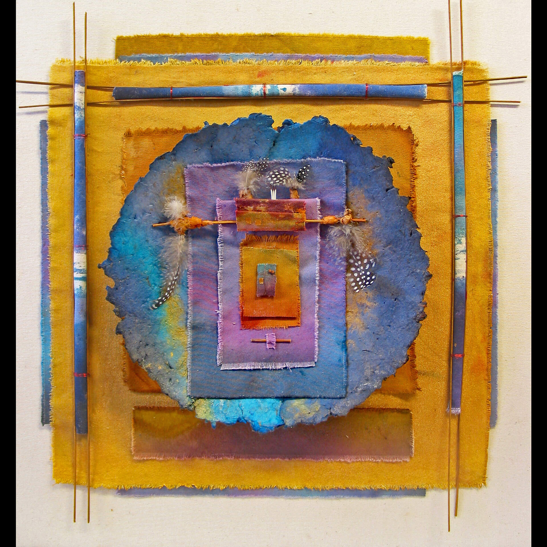 Pat Littlefield, Quattro of Colors, Mixed Media, Quail Hollow Events, Woodstock-New Paltz Art & Crafts Fair