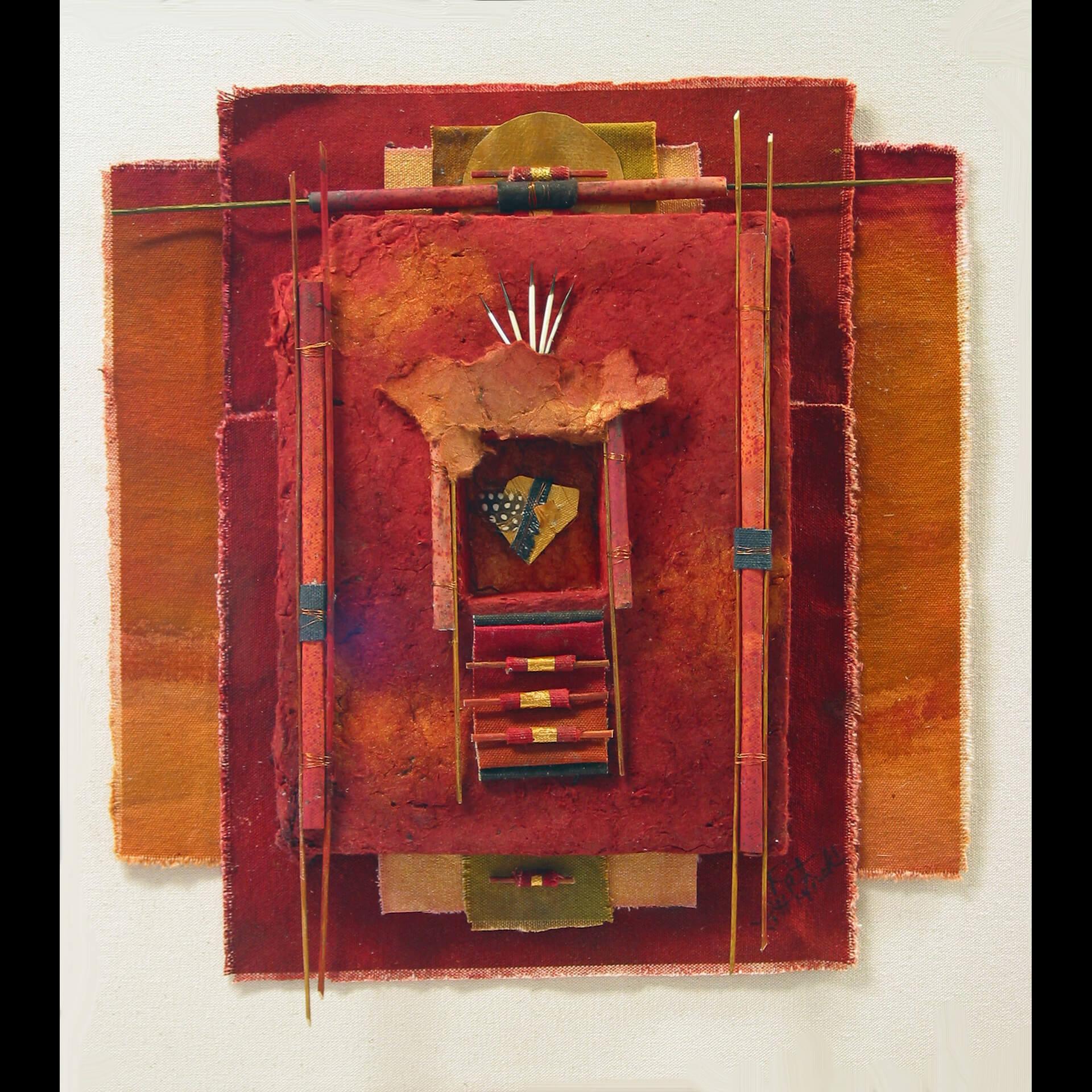 Pat Littlefield, Quattro of Colors, Mixed Media, Quail Hollow Events, Woodstock-New Paltz Art & Crafts Fair