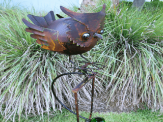 Robyn's Garden, Handcrafted Iron Garden Art, Woodstock-New Paltz Art & Crafts Fair