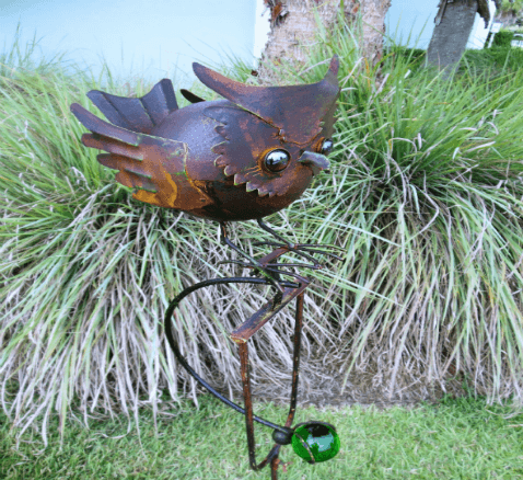 Robyn's Garden, Handcrafted Iron Garden Art, Woodstock-New Paltz Art & Crafts Fair