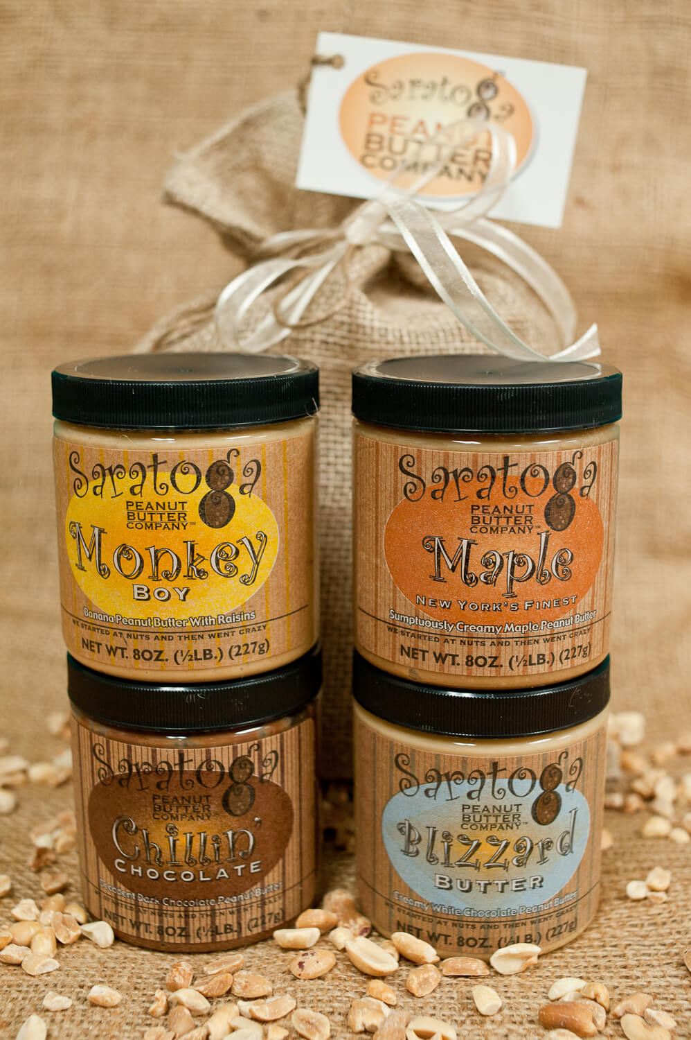 Saratoga Peanut Butter Company, homemade, handmade specialty foods, upstate ny, nut butter, peanut butter, almond butter, chocolate
