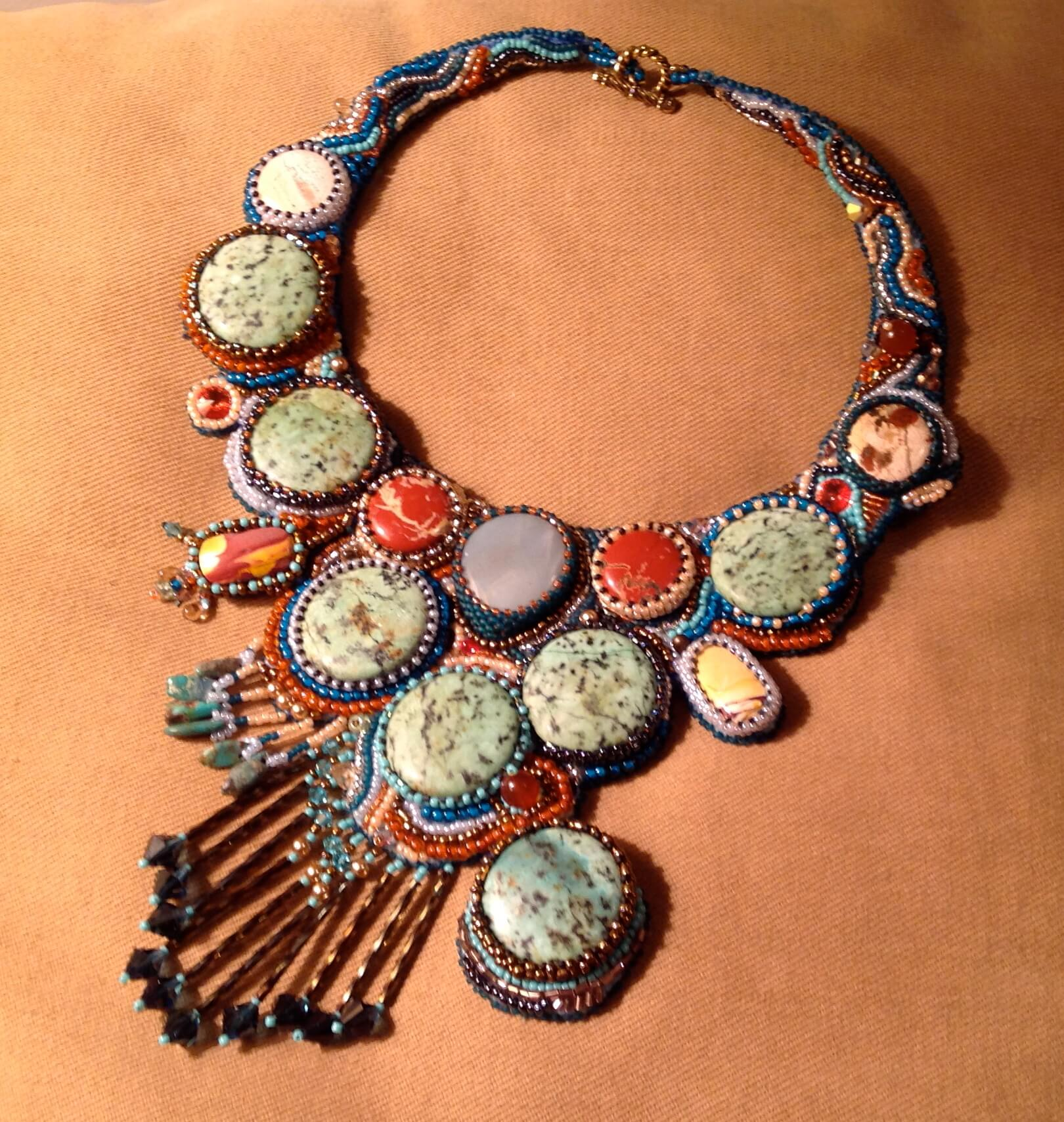 Andrea Beadazzles by Andrea Feinberg, handcrafted jewelry, beadwork, bead jewelry